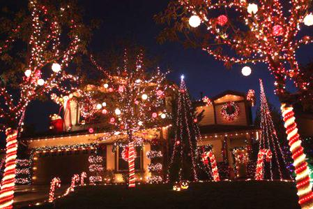 Yucaipa Christmas Light Show 2020 Largest show yet for the Manning Street lights | Entertainment