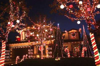 Yucaipa Christmas Lights 2020 Largest show yet for the Manning Street lights | Entertainment