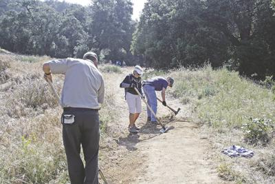 Volunteers upkeep Wildwood State Park after recent rains