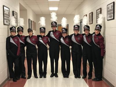 Cedar Ridge Marching Band Seniors