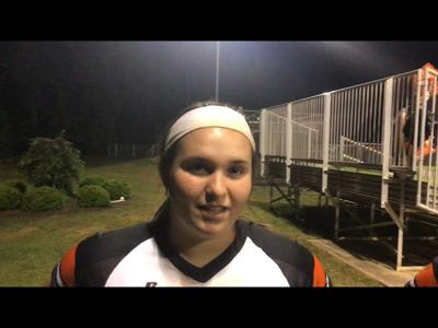 In her first state playoff game, Lauren Jackson hit a two-run homer to help Orange beat Jacksonville