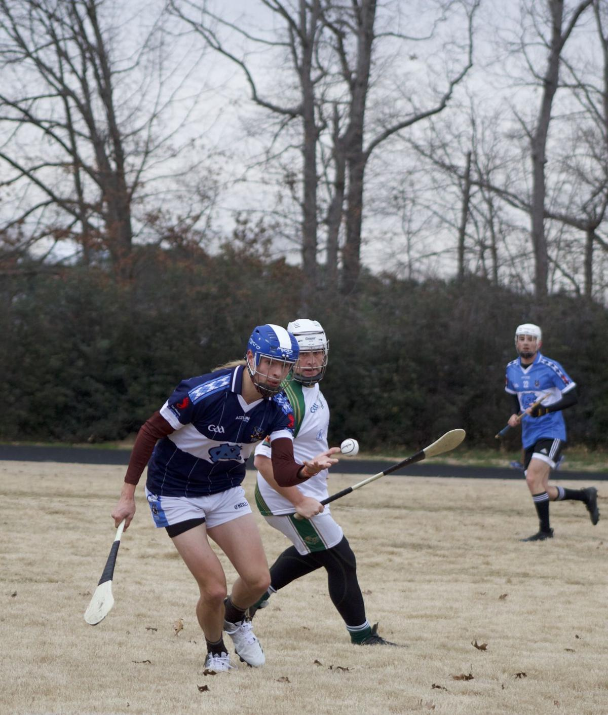 53dc52f73cf4f UNC hurling team earns third place in national competition | Sports ...