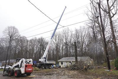 Tree falls on Hillsborough home
