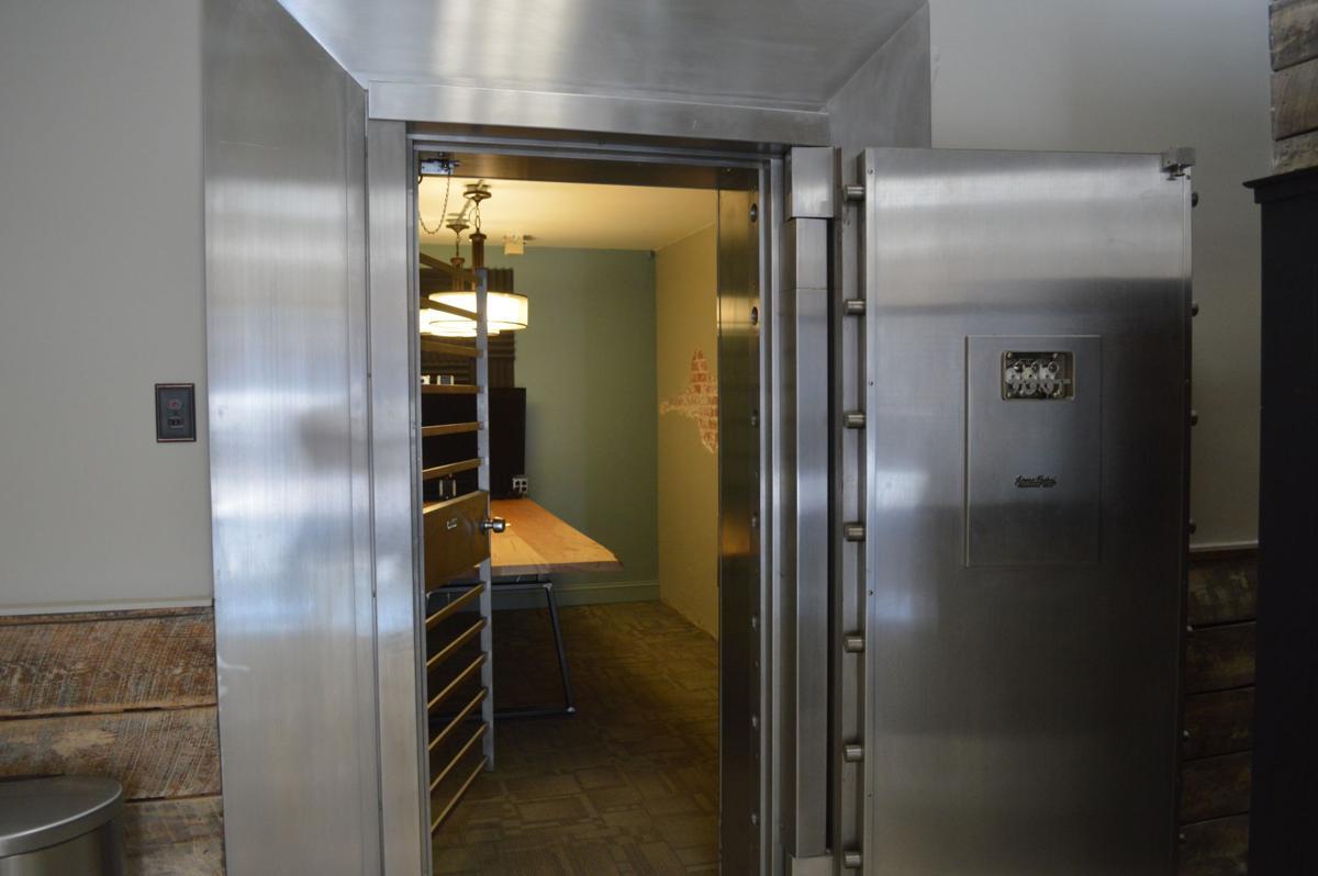 Converted vault