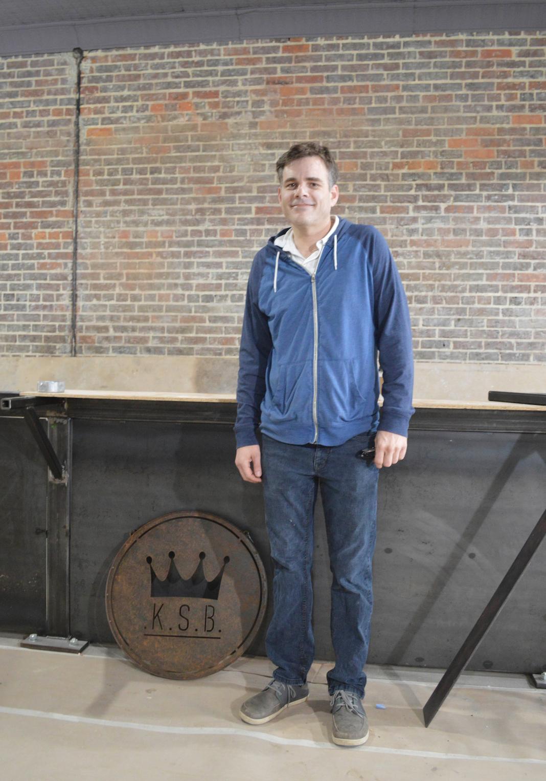 Tim Lyons, owner of the new King Street Bar