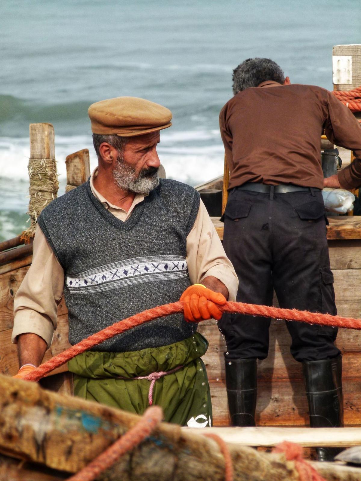 Fisherman in Ziba Kenar