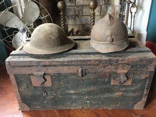 WWI Helmets