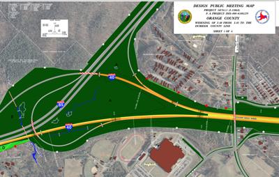 NCDOT to present I-40 widening proposals | News | newsoforange.com on i 25 map, i 11 map, i 40 route, i 4 map, interstate 40 map, i 20 map, i 84 map, us interstate highway system, i 30 map, i 5 map, i 90 map, i 35 map, i 540 map, i 10 map, i 44 map, i 40 traffic, i 22 map, 40 freeway map, i 26 map, i 29 map, i 15 map, u.s. route 66,