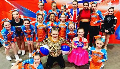 Local cheer and dance teams rock competition