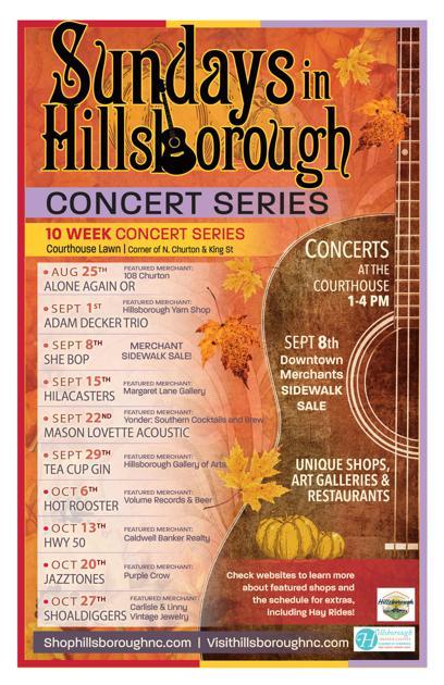 Sundays in Hillsborough returns this weekend