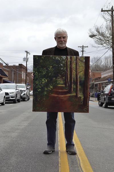 Tom Stevens is now a full-time artist