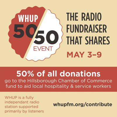 WHUP fundraiser