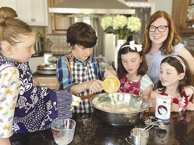 Charity Mathews and family