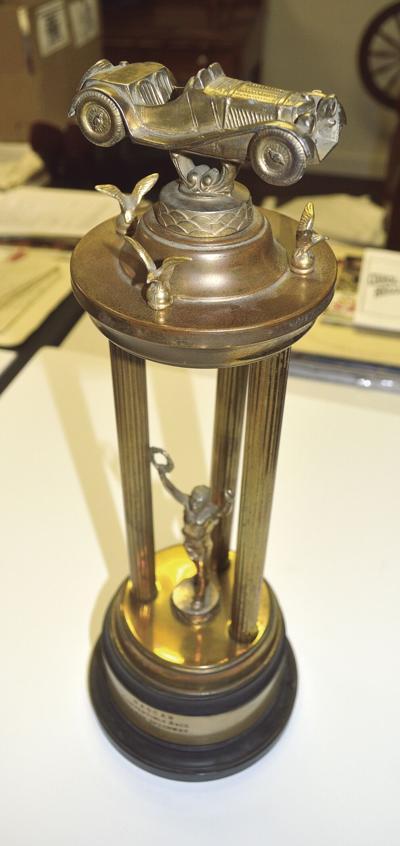 NASCAR trophy