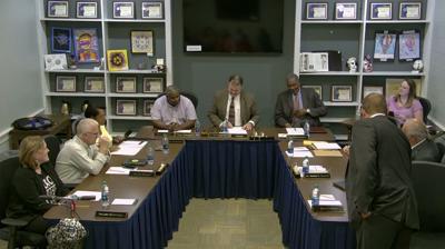Orange County Board of Education meeting