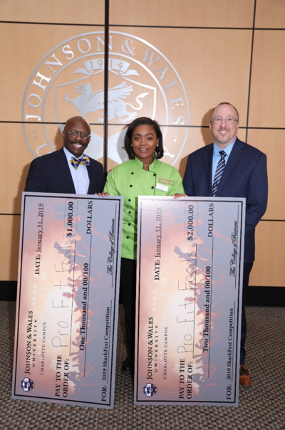 Winner of the University's 2019 Sharkfest Student Business Pitch Competition