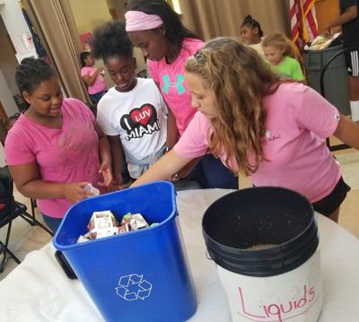 Recycling camp