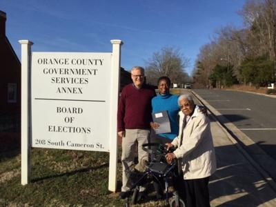 Hamilton files for seat on Orange County Board of Commissioners