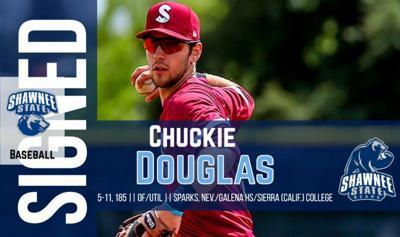SSU Baseball - Chuckie Douglas photo
