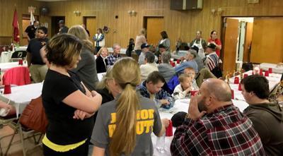 Junior Deputies serve Thanksgiving meals to veterans