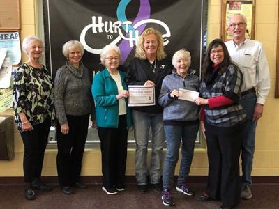 Donation to Hurt to Hope Program