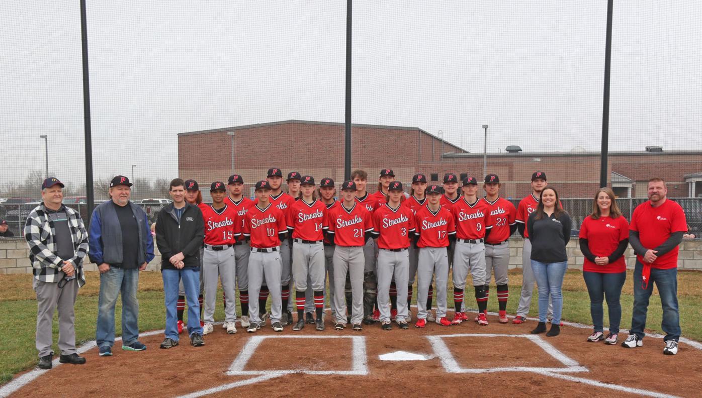Piketon baseball and sponsors