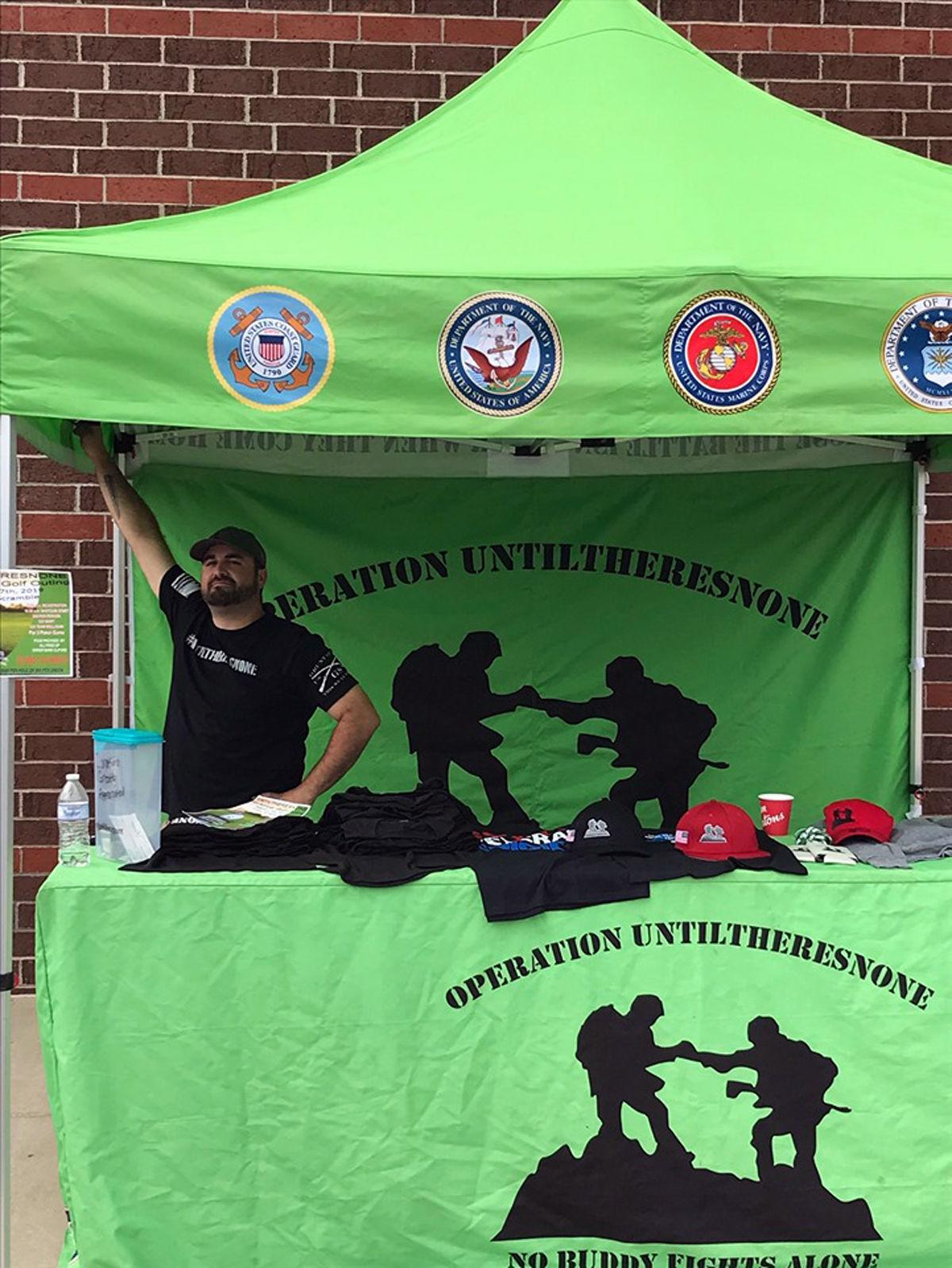 Local non-profit group offers support for veterans in crisis