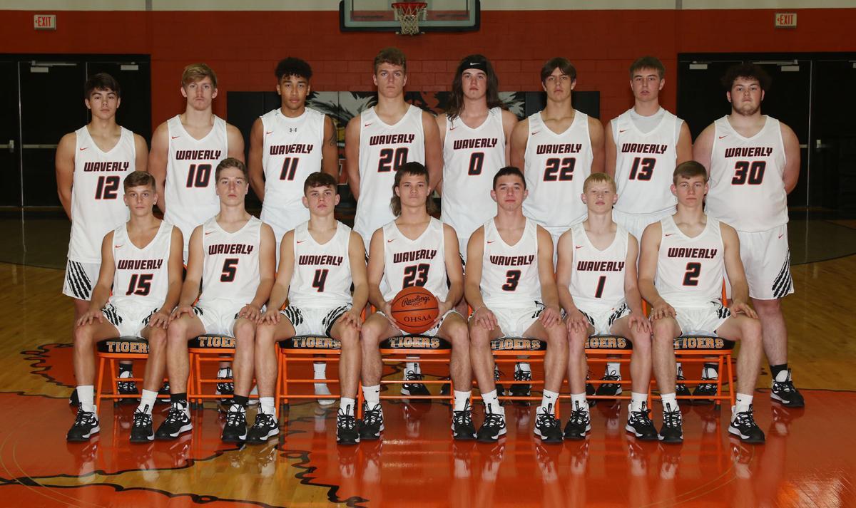 Waverly varsity boys basketball team