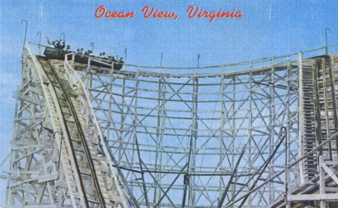 Oceanview postcard