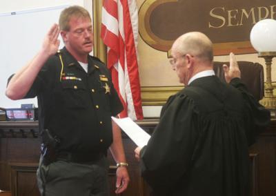 41st Pike County Sheriff sworn in