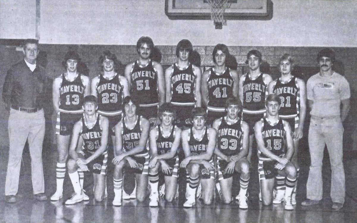 Waverly Boys Basketball Team 1976-1977