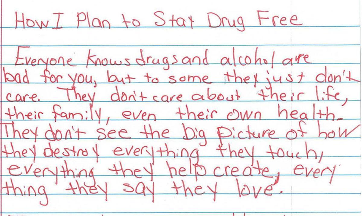 Essay drug