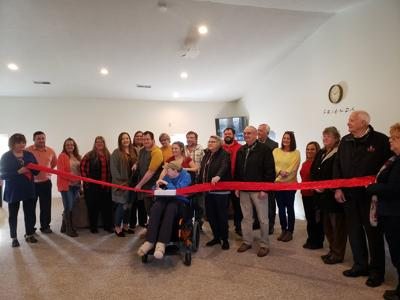 Ribbon cutting at new Goodwill Center
