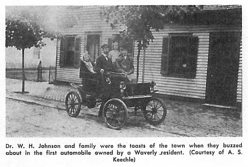 Dentist Johnson and his automobile