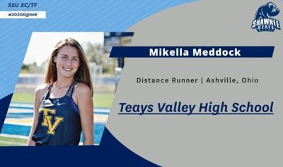 SSU runner Mikella Meddock