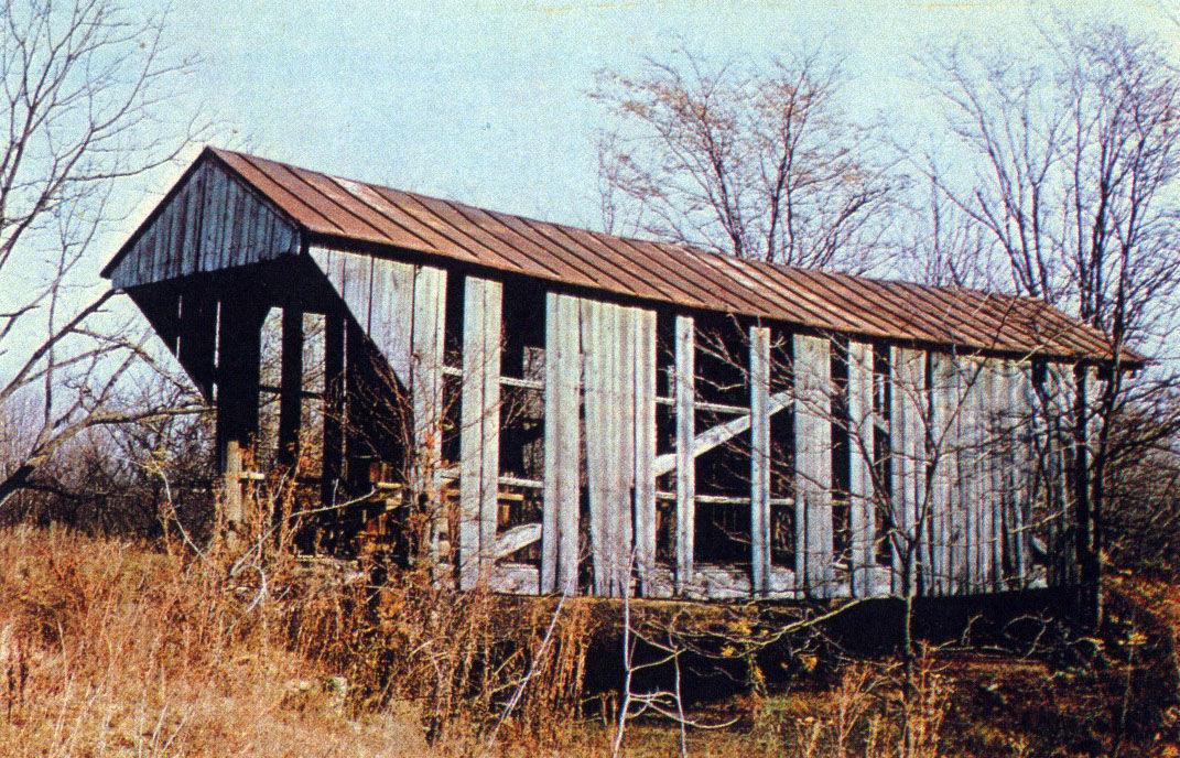Jim Henry - last covered bridge
