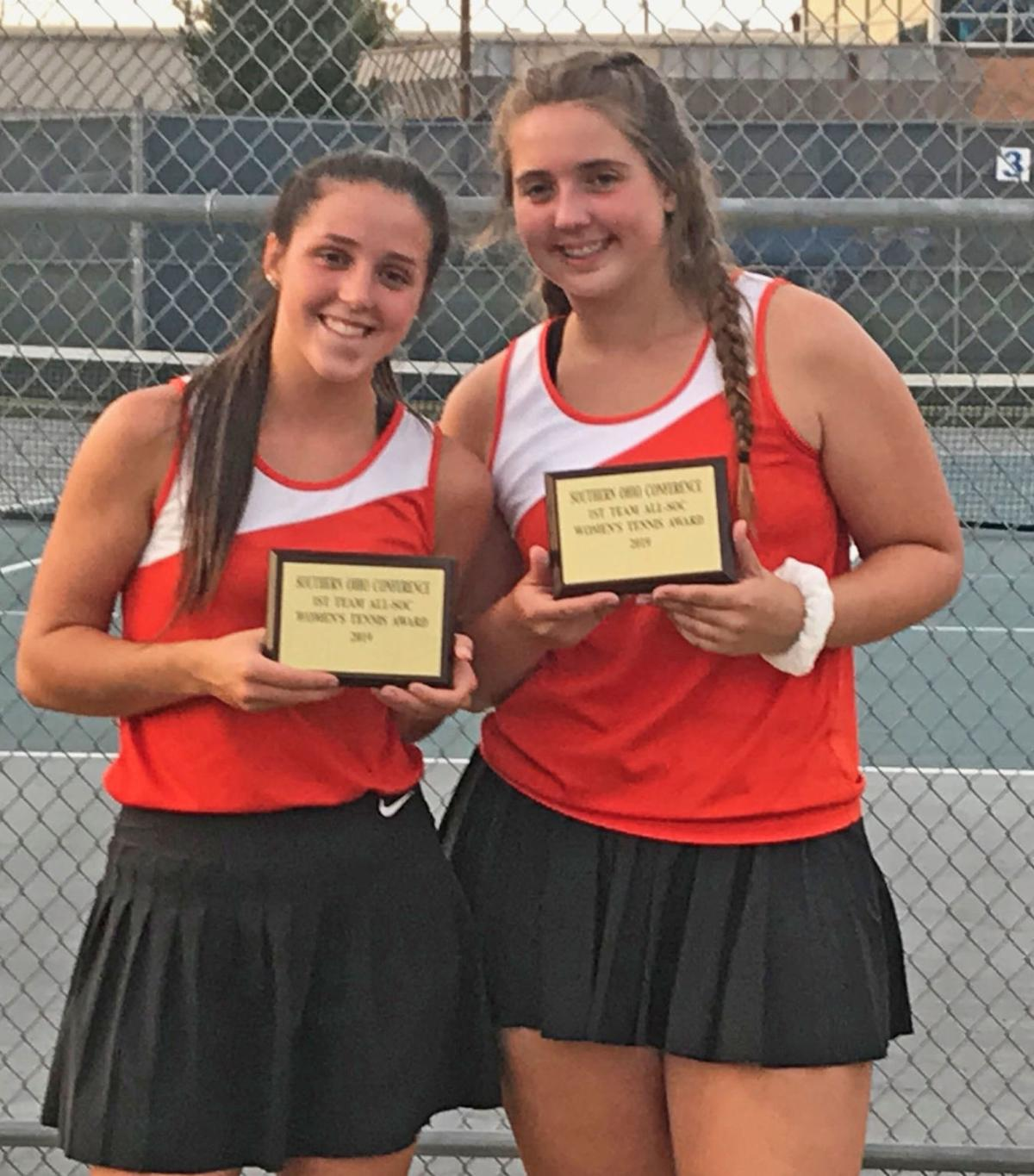 Waverly tennis - SOC doubles