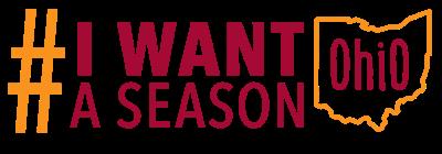 #iwantaseason Ohio