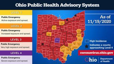 Ohio Public Health Advisory System - Nov. 19