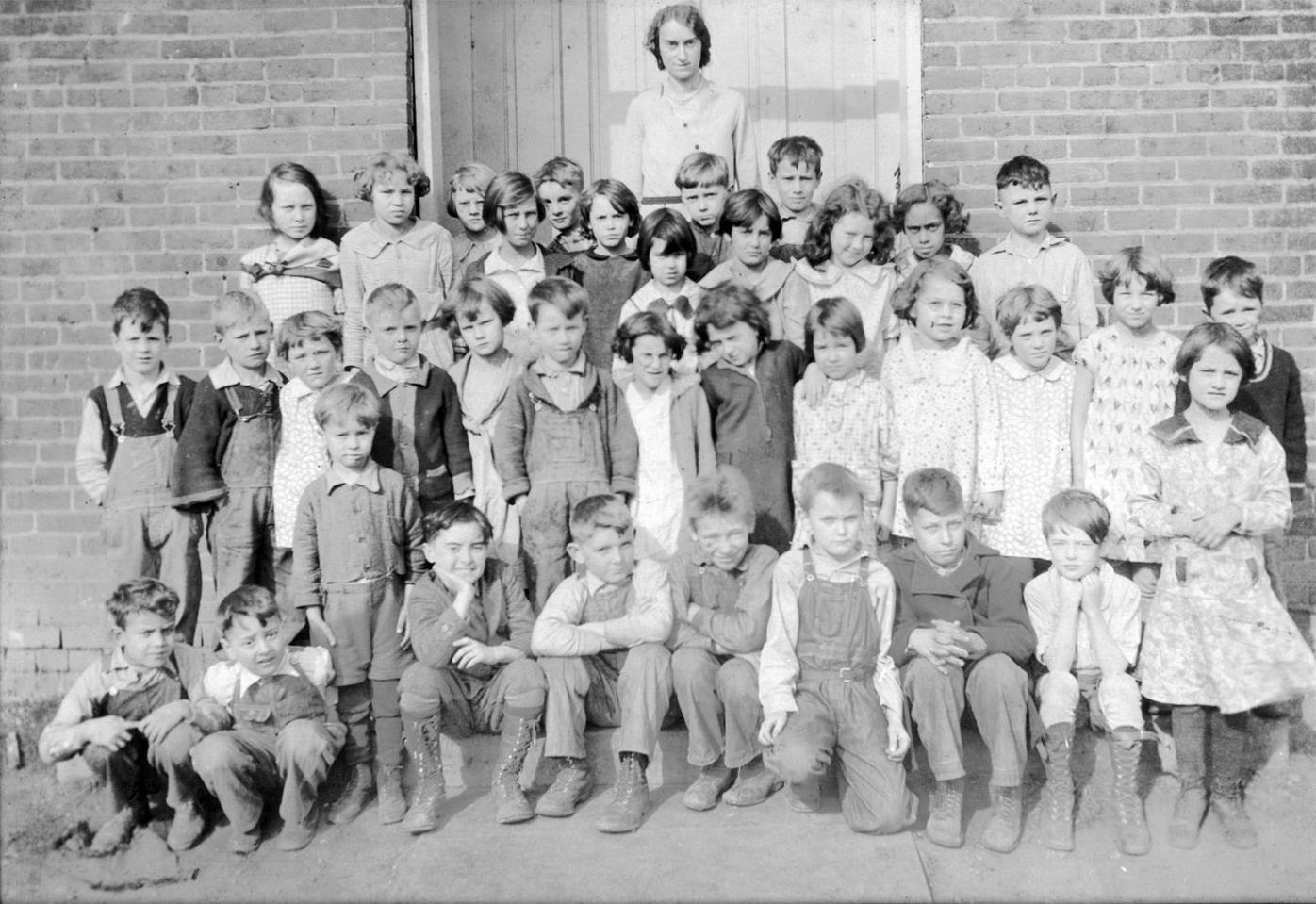 Omega School 1931 from estate of Vince Scott