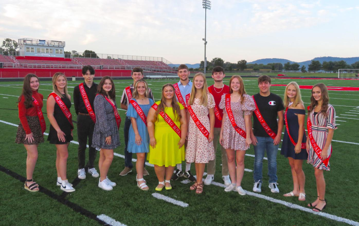 Piketon Homecoming Court announced for Oct. 1 ceremony