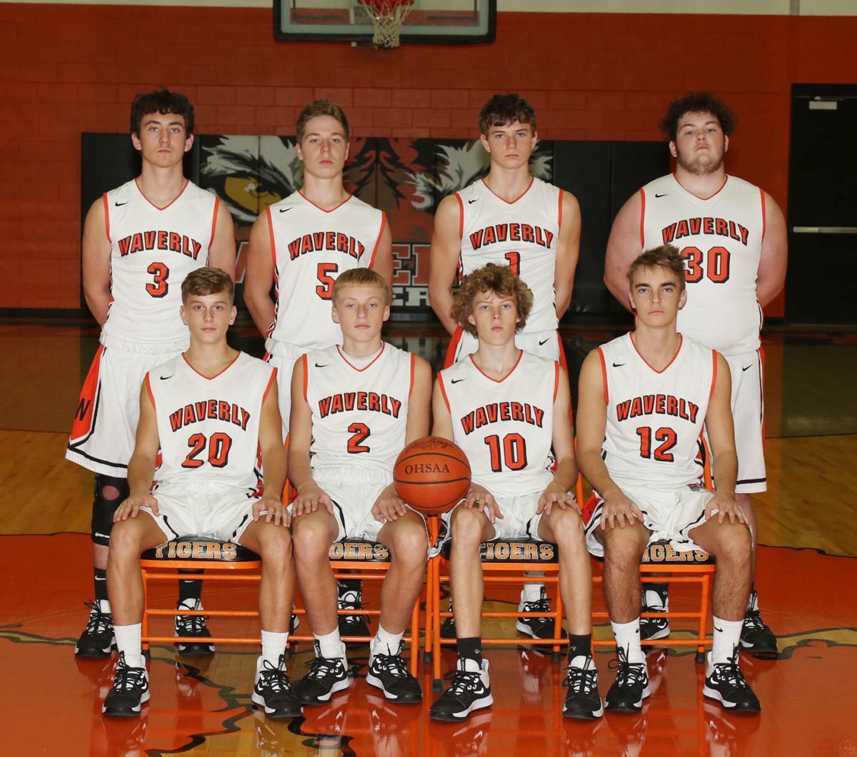 Waverly JV boys basketball team
