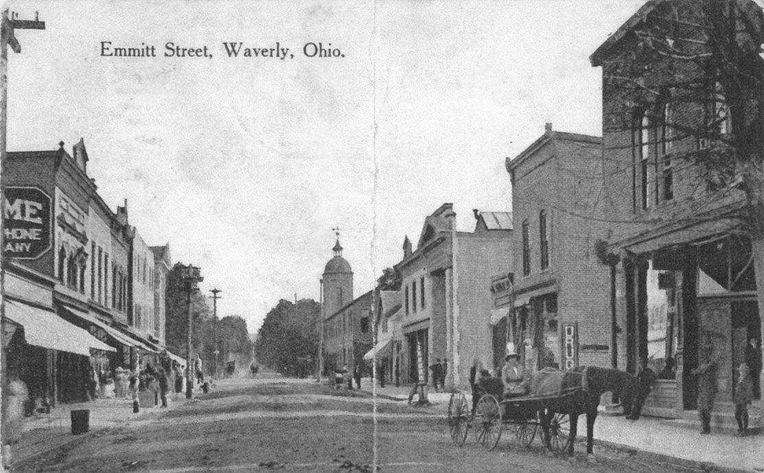 Emmitt Street, Waverly, Ohio