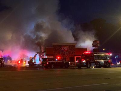Dairy Queen fire