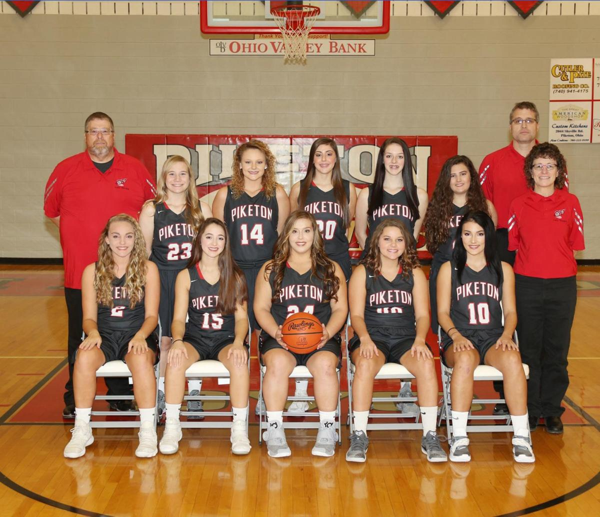 Piketon Lady Redstreaks Varsity Basketball 2018-2019