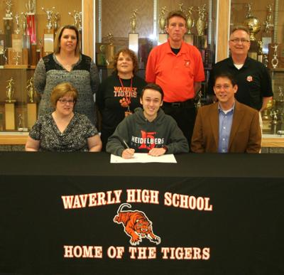 Kittaka signs with Heidelberg University for track and cross country
