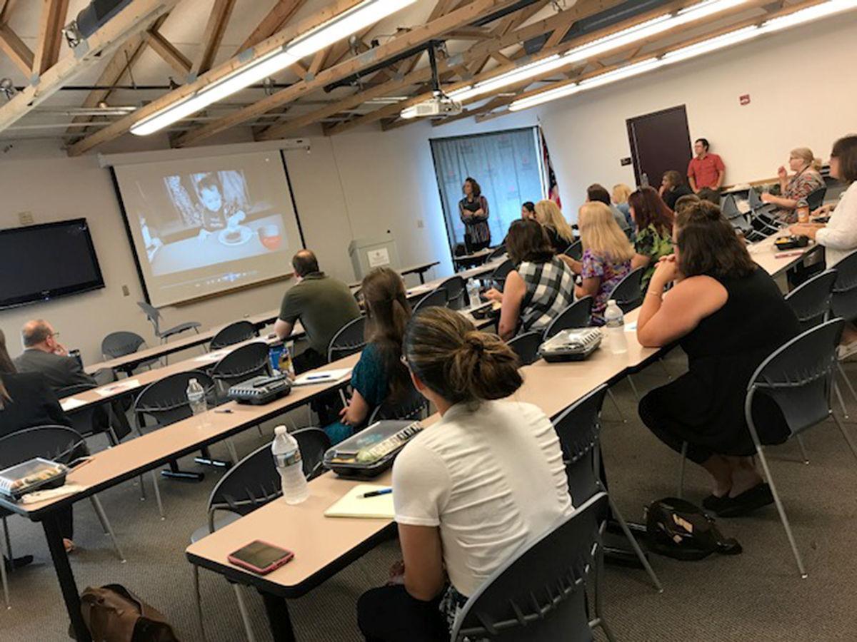 Children's Hunger Alliance presentation in Piketon