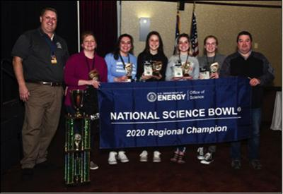 Science Bowl Winners