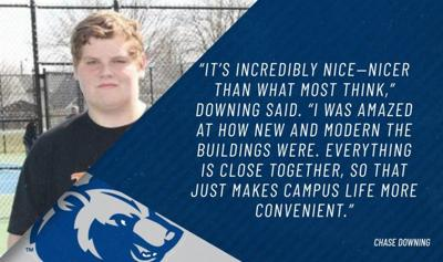 Chase Downing - SSU graphic
