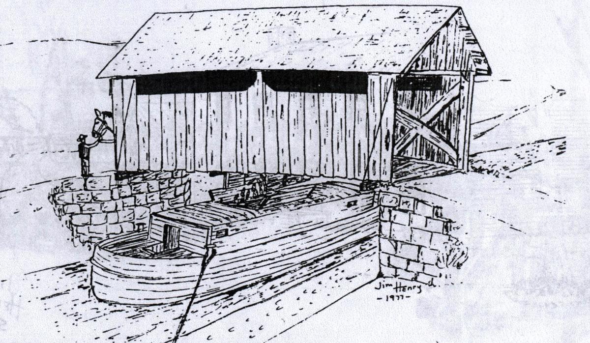 Kilgore Bridge Sketch